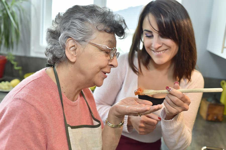 Home Care in Princeton NJ: How to Help Your Elderly Loved One Eat What She Wants in Moderation