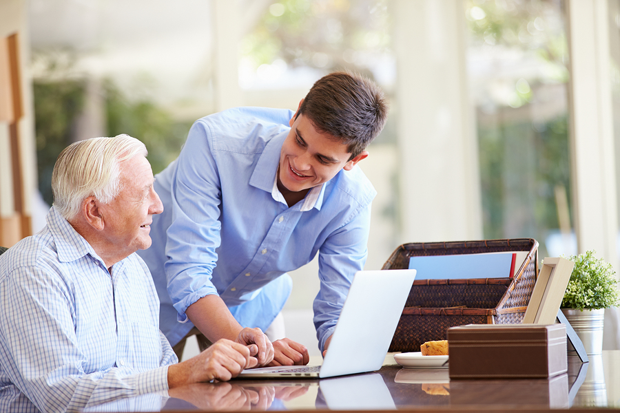 Caregivers in Bordentown NJ: Technology Can Keep Your Senior Safer