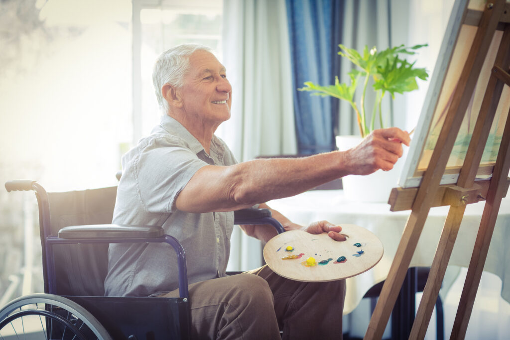 Senior Care in Monroe Township NJ: Benefits of the Arts for Elderly Adults